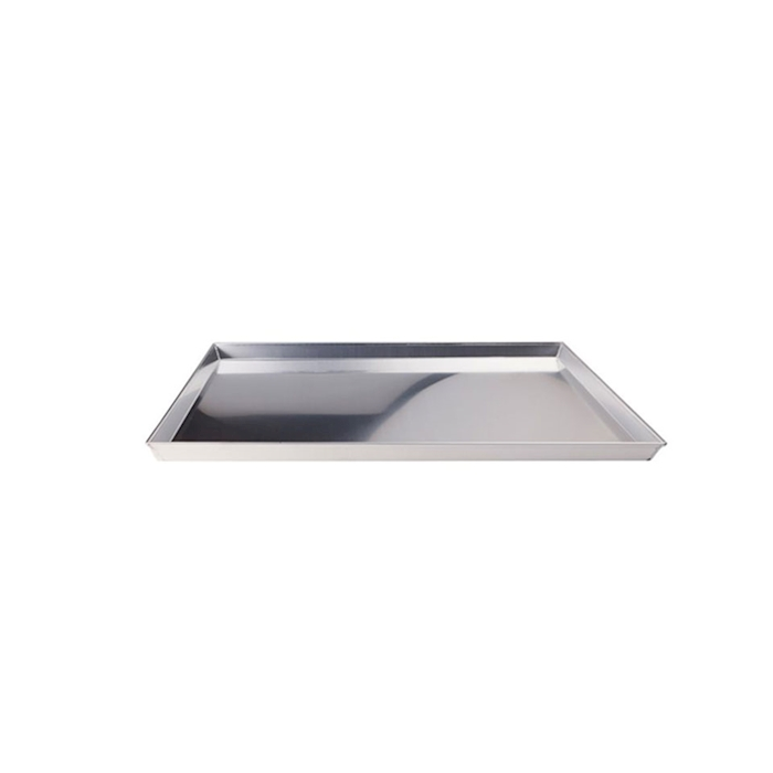 Teglia pizza rettangolare in alluminio cm 50