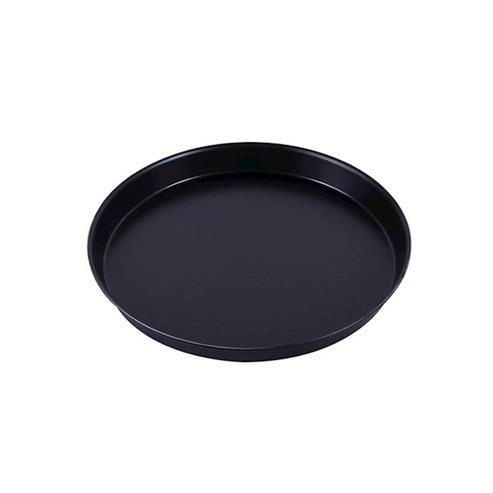 Teglia rotonda per pizza in ferro blu cm 30