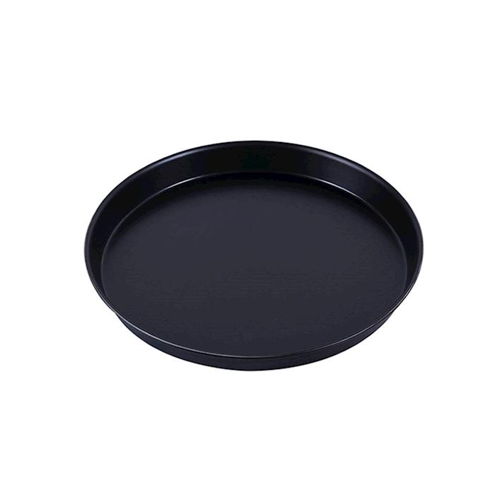 Teglia rotonda per pizza in ferro blu cm 32