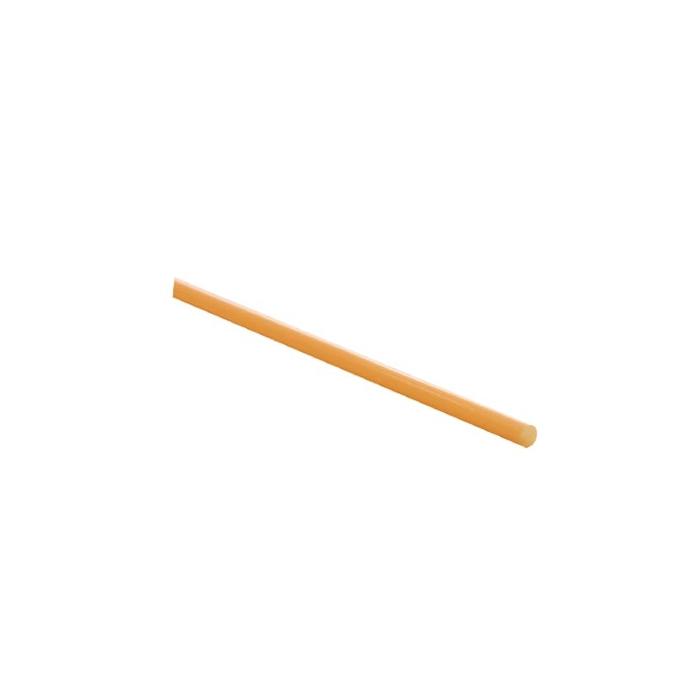 Cannuccia drinking straw plastica cm 13,5 arancio