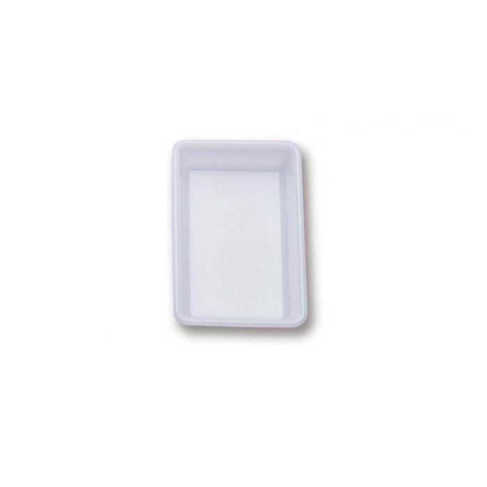 Vaschetta rettangolare Araven in policarbonato bianco lt 10