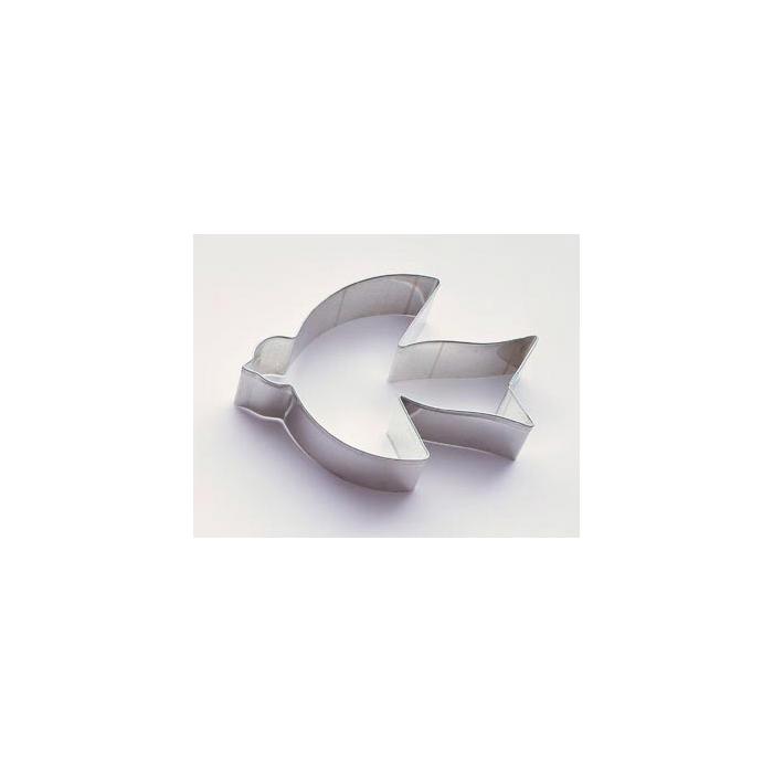 Tagliapasta a forma di rondine Paderno cm 8 x 7 banda stagnata