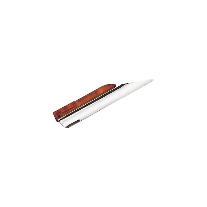 Raccoglibriciole a tubo in acciaio inox cm 23,5