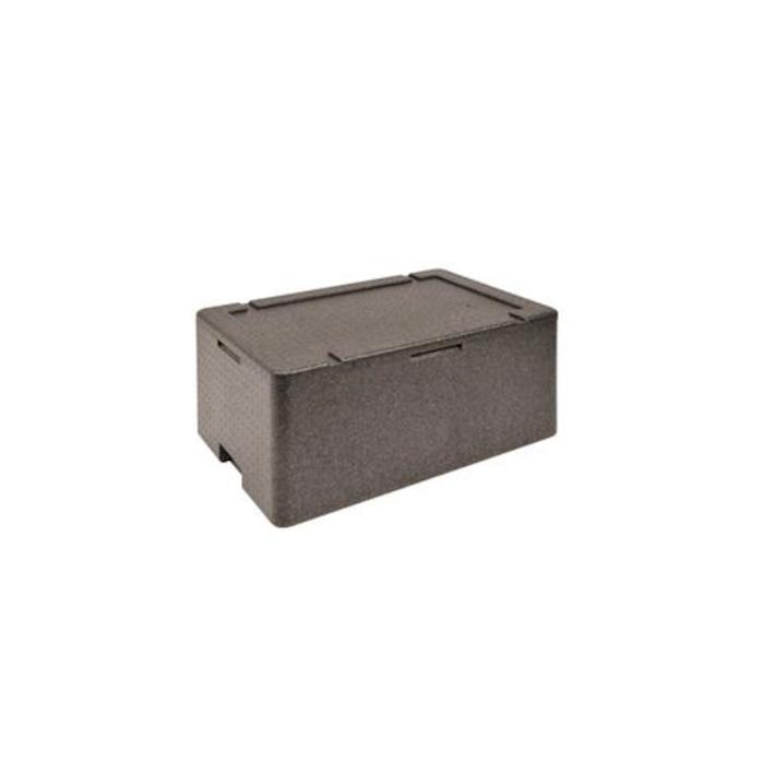 Contenitore isotermico Gastronorm 1/1 nero cm 60x40x27