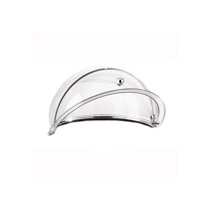 Cupola roll top refrigerata in acciaio inox e san cm 38
