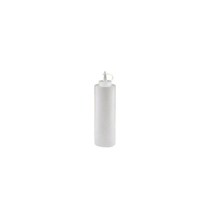 Squeeze bottle con tappo in PE trasparente cl 24