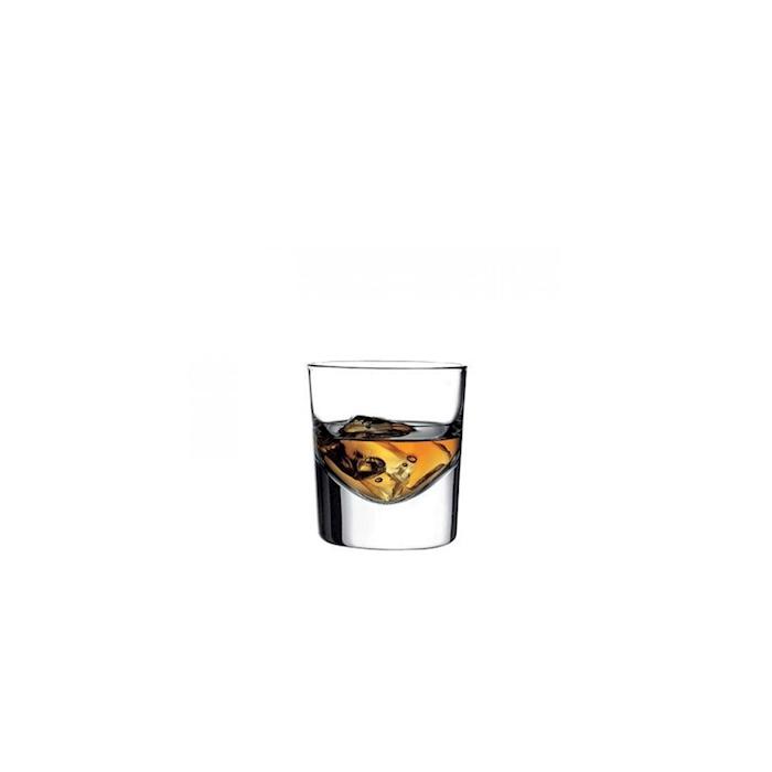 Bicchiere shot Grande 1 tacca in vetro cl 13,5