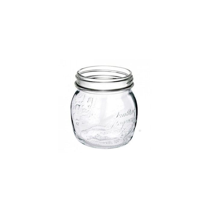 Vaso 4 stagioni senza coperchio in vetro cl 25