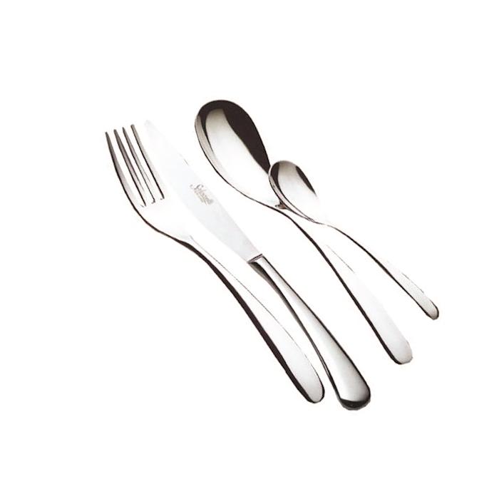 Cucchiaio tavola Forever Salvinelli in acciaio inox cm 23