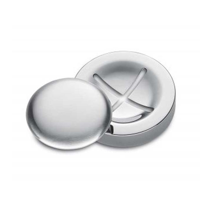 Saponetta Deluxe in acciaio inox