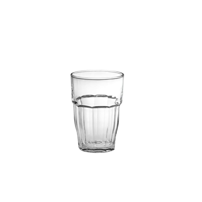Bicchiere Rock bar Long drink Bormioli Rocco in vetro cl 37