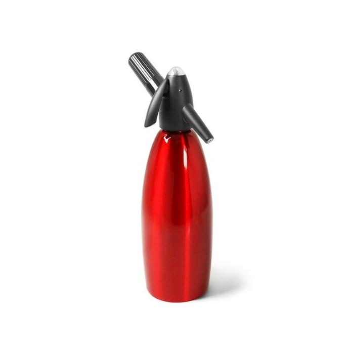 Sifone Seltz iSi alluminio rosso lt 1