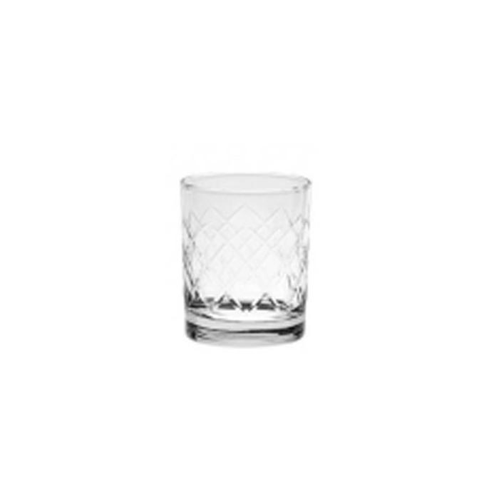 Bicchiere Cortina taglio a rete per whisky cl. 23