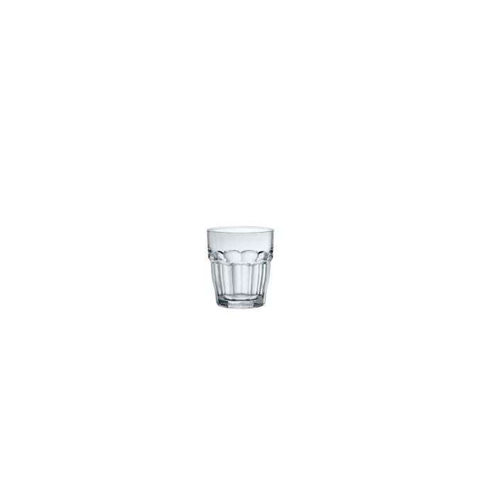 Bicchiere Rock bar One shot Bormioli Rocco in vetro cl 7