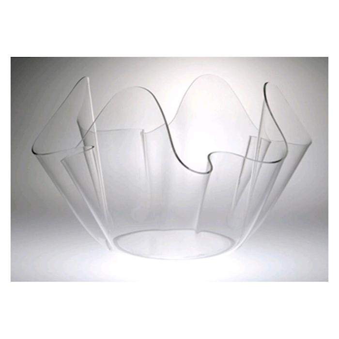 Spumantiera Onda in plexiglass trasparente cm 39x33