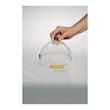 Campana Rubì con valvola 100% Chef in vetro cm 13