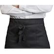 Grembiule bar con tasca spigato nero cm 75x45