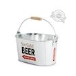 Secchiello birra Balvi in metallo cm 30x20x16,5