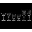 Calice Martini Astoria Wormwood con decoro in vetro cl 13