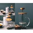 Teiera Tea Press Hario in vetro con filtro cl 30
