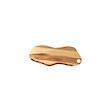 Tagliere naturale Wood Churchill con 2 impronte in legno naturale cm 41x15