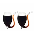 Bicchiere Pipa Sipping in vetro cl 17,5