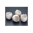 Coppetta uovo 100% Chef in porcellana bianca cl 5