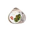 Vassoio Ameba Zebra 100% Chef in melamina cm 40x36