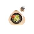 Vassoio Ameba Oak 100% Chef in melamina cm 40x36