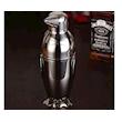 Shaker Pinguino 3 pezzi in acciaio inox cl 50