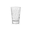 Bicchiere Dolomiti bibita Vidivi in vetro lavorato cl 42