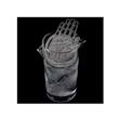 Colino Strainer Palmistry Bottesi in acciaio inox cm 13x9,5