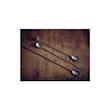 Bar spoon con pestello linea Vintage in acciaio inox anticato cm 27