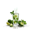 Cannucce commestibili e aromatizzate al Lime cm 18,5