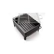 Mini barbecue 100% Chef in acciaio inox cm 25x20x13