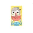 Quaderni per bambini da colorare Faces in carta cm 22x12,5