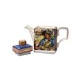Teiera Library Treasure Island Sadler in porcellana decorata cl 70