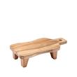 Tagliere Texas con piedini in legno cm 34,5x18,5