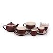 Tazza caffè CoffeeCo senza piatto in porcellana marrone cl 9