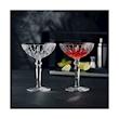 Coppa cocktail Noblesse in vetro decorato cl 18