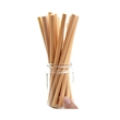 Cannucce riutilizzabili in bamboo naturale cm 22