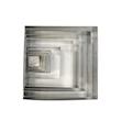 Stampo quadro in acciaio inox cm 16x16