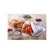 Fogli per alimenti in carta oleata con decoro bianco newspaper cm 25x20