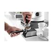 Porta gruppo caffè singolo Hendi con poggia pressino in acciaio e silicone