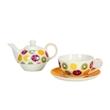 Tea For One Frutti Gialli in porcellana decorata