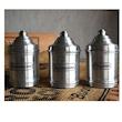 Set 3 barattoli spezie in alluminio