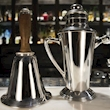 Shaker Vintage Victorian in acciaio placcato argento lt 1