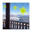 Stella 3D Cazador del Sol verde cm 13