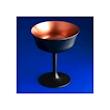 Coppa Retro Fizz Urban Bar in vetro nero e bronzo cl 26