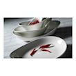 Piatto fondo Freestyle Performance Steelite in ceramica vetrificata bianca cm 27,5x24,5x4,5